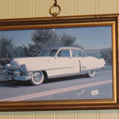Cadre voiture vintage