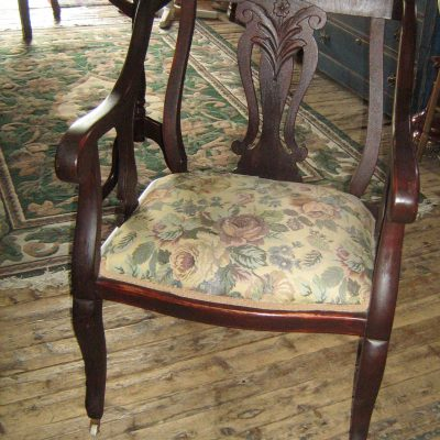 Chaise style anglaise ancienne
