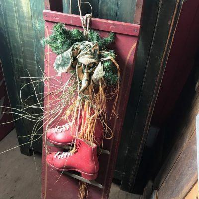 Traineau décoratif