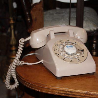 telephone vintage beige #416