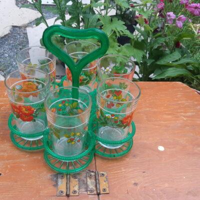 Ensemble de verres vintage